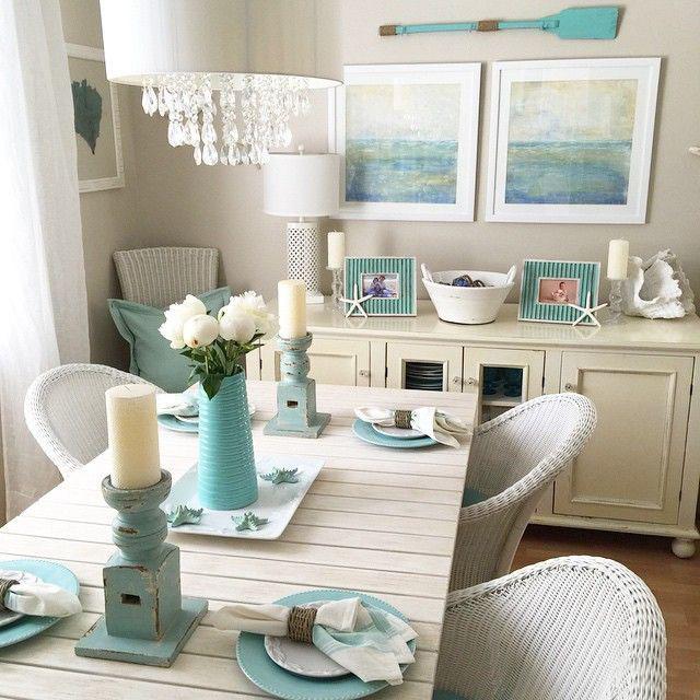 Романтическая атмосфера тематической пляжной столовой