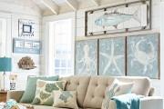 Фото 28 Морской стиль в интерьере (100+ фотоидей): как создать свежий и лаконичный дизайн в духе Хэмингуэя