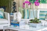 Фото 3 Морской стиль в интерьере (100+ фотоидей): как создать свежий и лаконичный дизайн в духе Хэмингуэя