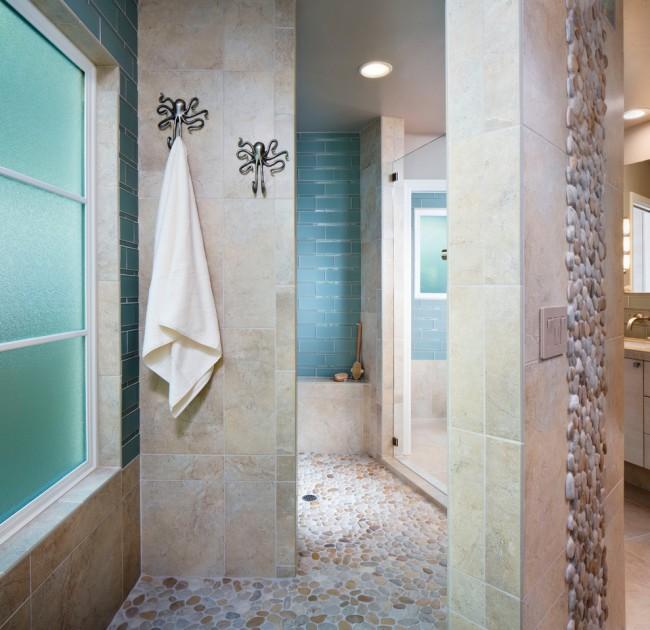 Ванная в морском стиле - вовсе не избитая идея. Все дело в воплощении задуманной атмосферы