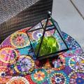 55 Арт идей мозаики своими руками в саду и интерьере фото
