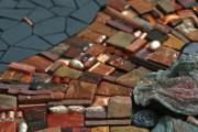 Фото 25 55 Арт идей мозаики своими руками в саду и интерьере