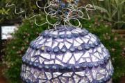 Фото 26 55 Арт идей мозаики своими руками в саду и интерьере