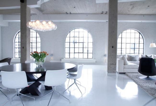 Тип покрытия выбирают в том числе в зависимости от характеристик перекрытий здания