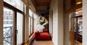 Отделка балконов внутри: всё разнообразие вариантов (45 фото) фото