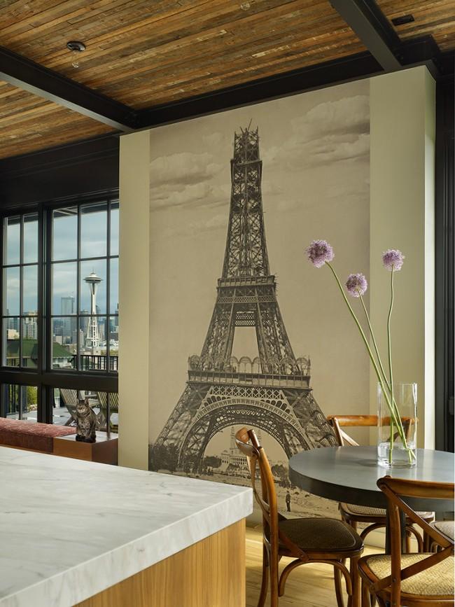Популярная идея с интересными ракурсами Эйфелевой башни - шарм вне времени