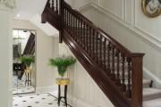 Фото 8 Плитка на пол в коридоре: 55 практичных решений дизайна прихожей (фото)