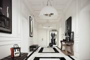 Фото 26 Плитка на пол в коридоре: 55 практичных решений дизайна прихожей (фото)