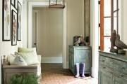 Фото 6 Плитка на пол в коридоре: 55 практичных решений дизайна прихожей (фото)