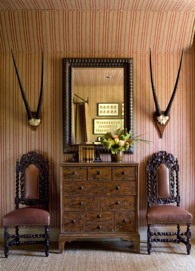 Винтаж в предметах мебели, декоре и настенном покрытии