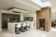 Фото 1 Потолки из гипсокартона на кухне: важный аспект в геометрии пространства (фото)