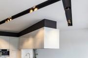 Фото 2 Потолки из гипсокартона на кухне: важный аспект в геометрии пространства (фото)