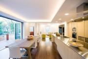 Фото 9 Потолки из гипсокартона на кухне: важный аспект в геометрии пространства (фото)