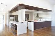 Фото 17 Потолки из гипсокартона на кухне: важный аспект в геометрии пространства (фото)