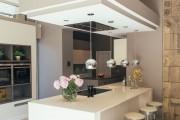 Фото 25 Потолки из гипсокартона на кухне: важный аспект в геометрии пространства (фото)