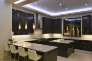 Фото 3 Потолки из гипсокартона на кухне: важный аспект в геометрии пространства (фото)