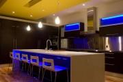 Фото 10 Потолки из гипсокартона на кухне: важный аспект в геометрии пространства (фото)