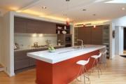 Фото 30 Потолки из гипсокартона на кухне: важный аспект в геометрии пространства (фото)