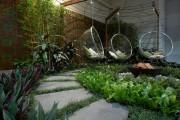 Фото 29 Качели садовые: 60 супер-фото для изготовления своими руками, чертежи