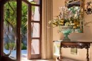 Фото 1 30+ Идей штор на двери: изящный декор для дверных проемов