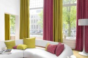 Фото 5 45 Идей штор на люверсах своими руками: как гармонично украсить ваши окна
