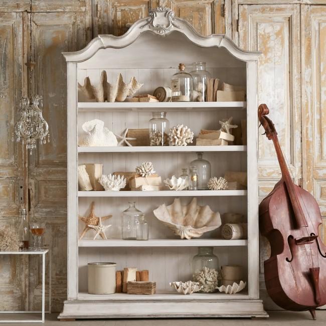 """Оформив комнату в оригинальной морской интерпретации """"прованса"""", у вас появится шанс украсить её эксклюзивным декором, который сделает ваш дом неповторимым в красоте и уюте"""