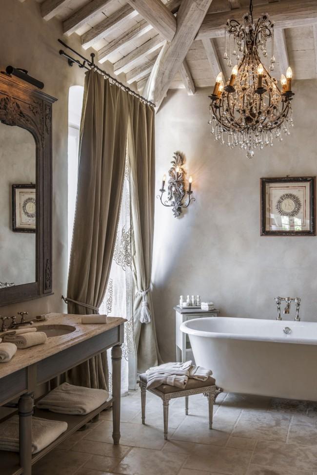 Прованские интерьеры свежи и легки, наполнены чистотой и простотой сельской жизни