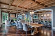 Фото 8 Стол и стулья для кухни: 40+ идей организации обеденного пространства (фото)
