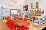 Фото 11 Стол и стулья для кухни: 40+ идей организации обеденного пространства (фото)