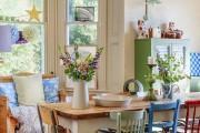 Фото 4 Стол и стулья для кухни: 40+ идей организации обеденного пространства (фото)