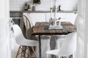 Фото 13 Стол и стулья для кухни: 40+ идей организации обеденного пространства (фото)