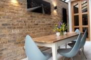 Фото 19 Стол и стулья для кухни: 40+ идей организации обеденного пространства (фото)