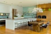 Фото 22 Стол и стулья для кухни: 40+ идей организации обеденного пространства (фото)