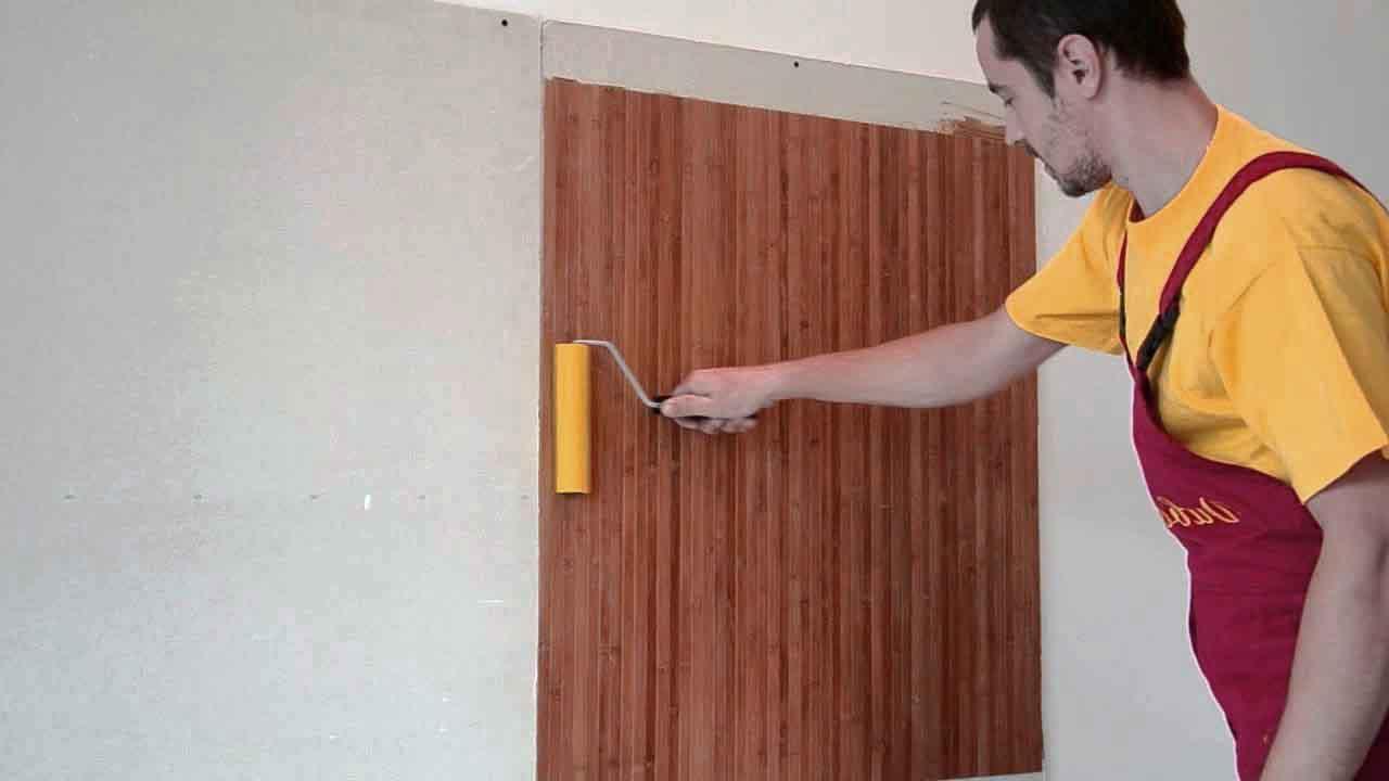 Бамбуковые обои в интерьере (38 фото): где и как использоват.