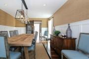 Фото 4 Бамбуковые обои в интерьере (38 фото): варианты использования, нюансы монтажа