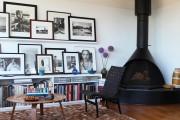 Фото 12 Дизайн черно-белой гостиной: 40 вдохновляющих идей элегантного монохрома