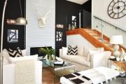 Фото 18 Дизайн черно-белой гостиной: 65+ вдохновляющих идей элегантного монохрома