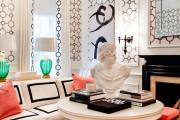 Фото 10 Дизайн черно-белой гостиной: 65+ вдохновляющих идей элегантного монохрома