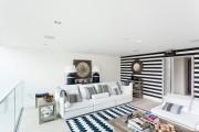 Фото 15 Дизайн черно-белой гостиной: 65+ вдохновляющих идей элегантного монохрома