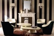 Фото 7 Дизайн черно-белой гостиной: 40 вдохновляющих идей элегантного монохрома