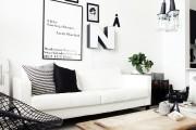 Фото 8 Дизайн черно-белой гостиной: 40 вдохновляющих идей элегантного монохрома