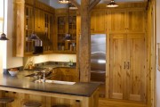 Фото 7 Деревянный дом: интерьер внутри и 60+ вдохновляющих реализаций дизайна