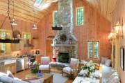 Фото 29 Деревянный дом: интерьер внутри и 60+ вдохновляющих реализаций дизайна