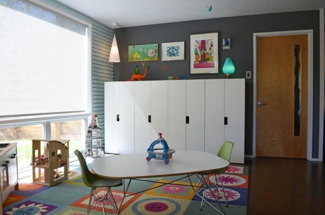 Простота и функциональность мебели в скандинавском стиле