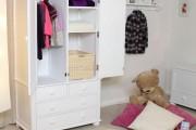 Фото 7 Детские шкафы для одежды: хитрости дизайна и полезные лайфхаки по организации вещей