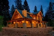 Фото 17 5 этапов строительства дома из оцилиндрованного бревна: проекты, цены и фото экологичного жилья