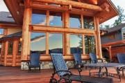 Фото 7 5 этапов строительства дома из оцилиндрованного бревна: проекты, цены и фото экологичного жилья
