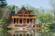 Фото 20 5 этапов строительства дома из оцилиндрованного бревна: проекты, цены и фото экологичного жилья