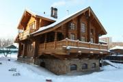 Фото 40 5 этапов строительства дома из оцилиндрованного бревна: проекты, цены и фото экологичного жилья