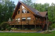 Фото 32 5 этапов строительства дома из оцилиндрованного бревна: проекты, цены и фото экологичного жилья
